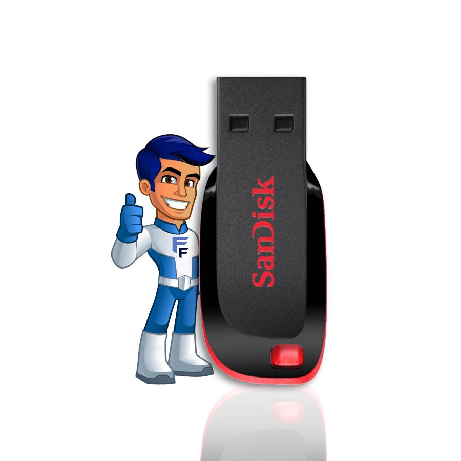 Pen Drive - 16GB - Sandisk Flash Drive
