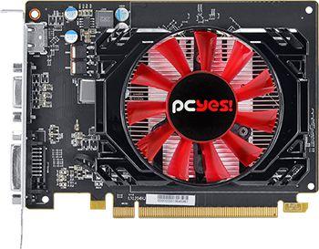 Placa de vídeo PcYes AMD Radeon R7 250 2GB GDDR5 128 Bits