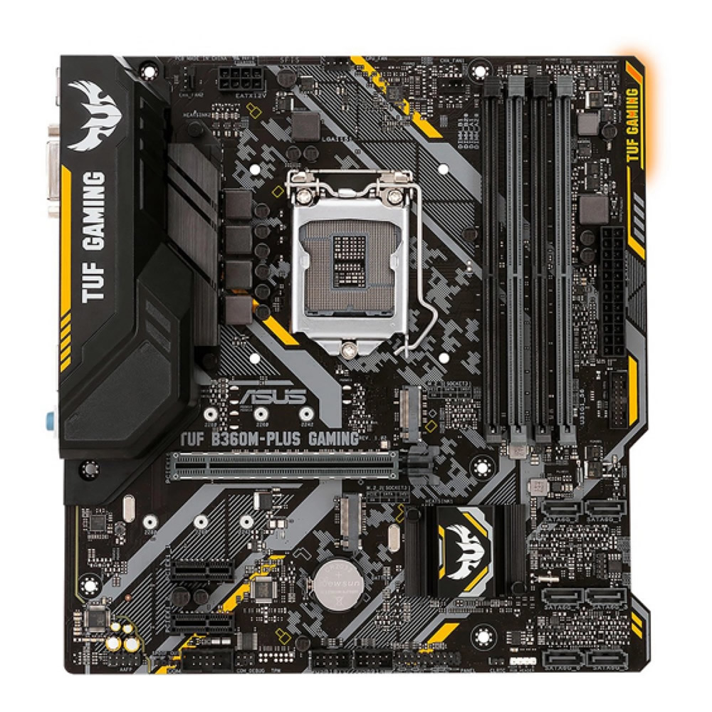 Placa Mãe Asus Tuf B360m Plus Gaming 1151 Ddr4 Hdmi M2 M