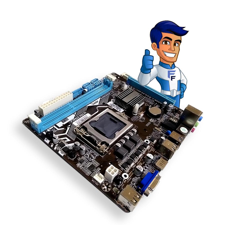 Placa Mãe BPC H81m-jel LGA1150 DDR3 Brazil Pc