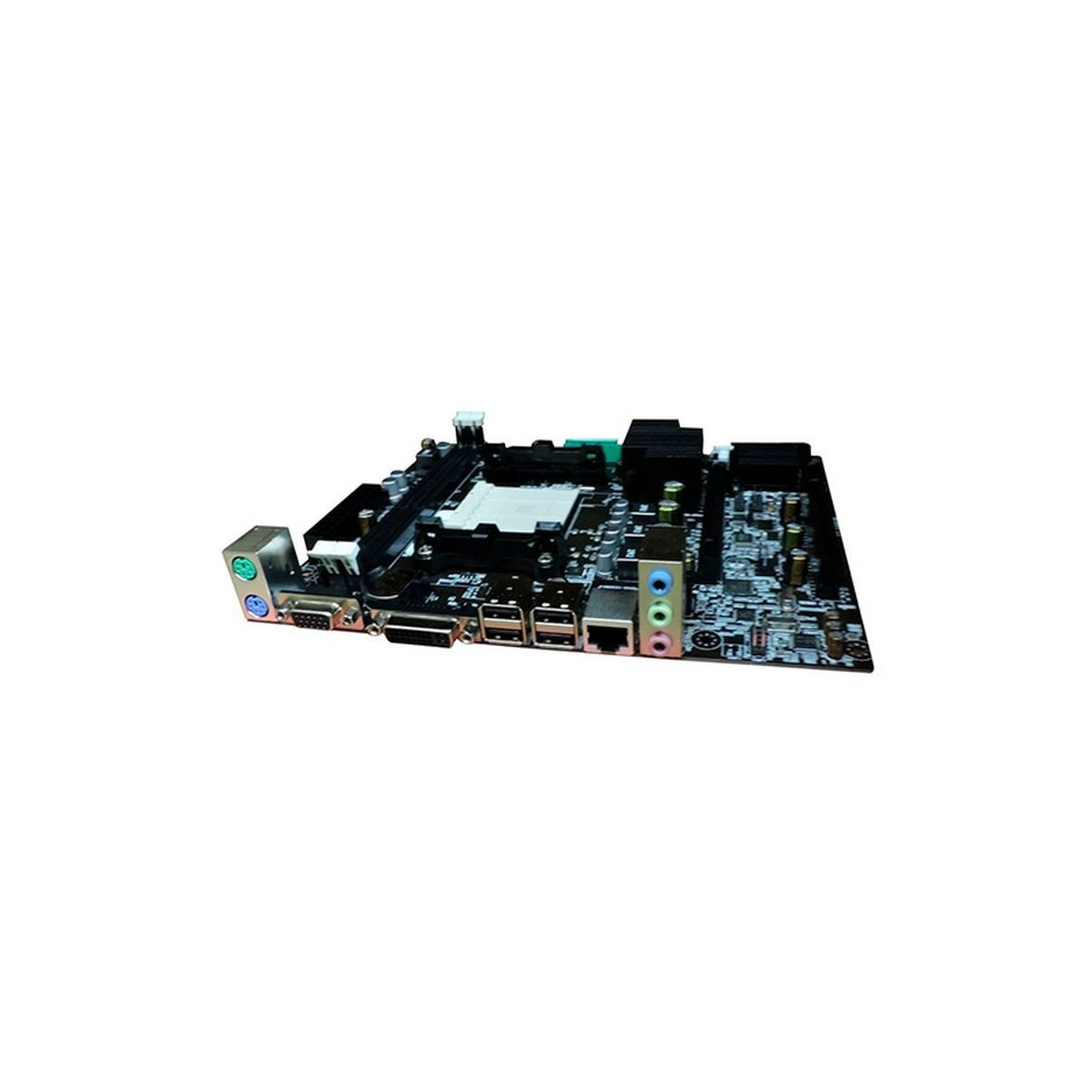 Placa Mãe brazil pc BPC-78LM3-M DDR3 AM2 SOM VIDEO REDE