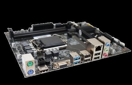 PLACA MÃE  BRAZIL PC BPC-H110M D-4 DDR4 1151 SOM VIDEO REDE