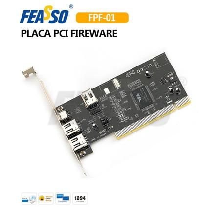 PLACA PCI EXPRESS 2 FIRE WIRE FEASSO