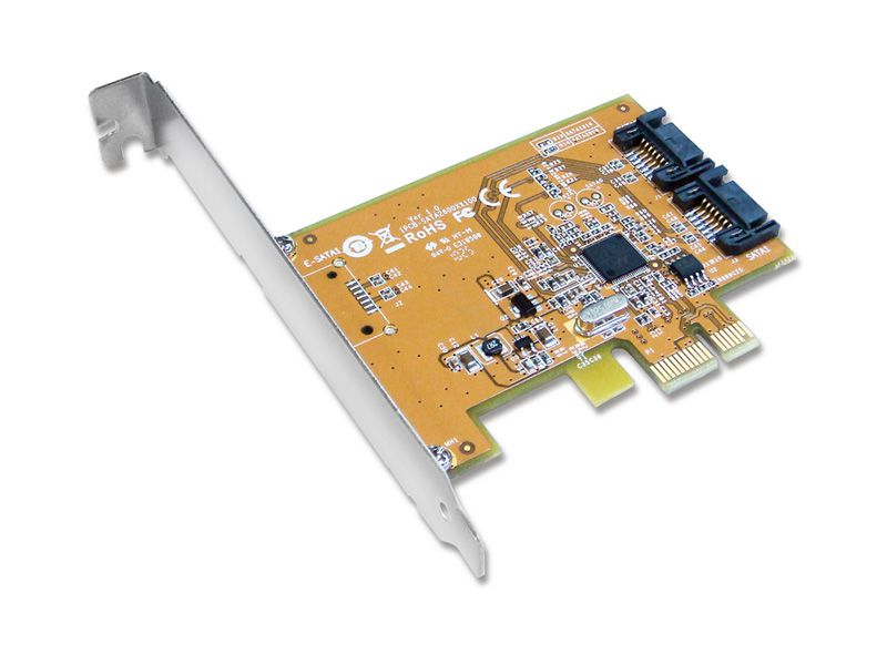 PLACA PCI EXPRESS SATA (2X SERIAL ATA) SUNIX