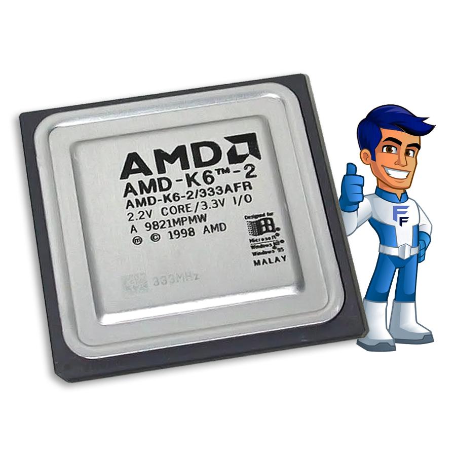 Processador AMD K6 II 500MHZ O&M