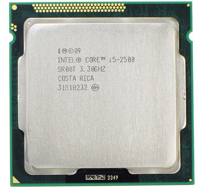 Processador I5 2500 LGA 1155 Intel SEMINOVO