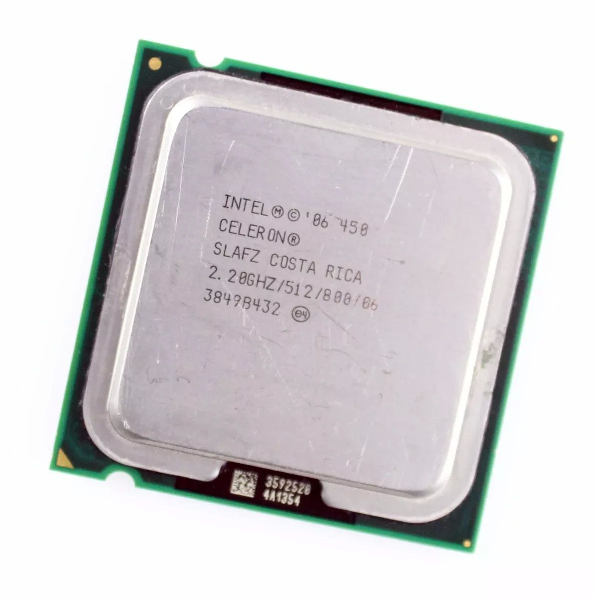 Processador Intel Celeron 450 512K Cache, 2.20 GHz LGA 775 OEM