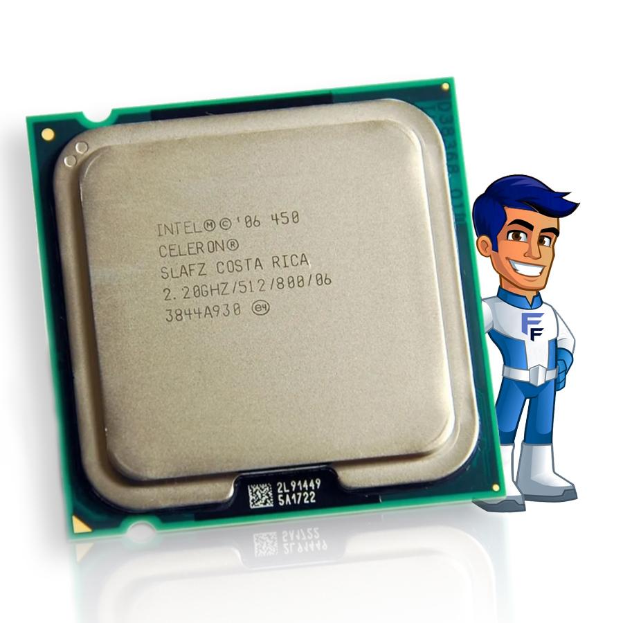 Processador Intel Celeron 450 512K Cache, 2.20 GHz LGA 775 SEMINOVO