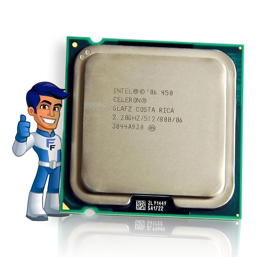 Processador Intel Celeron D440 2.0GHZ 512K 800Mhz Seminovo