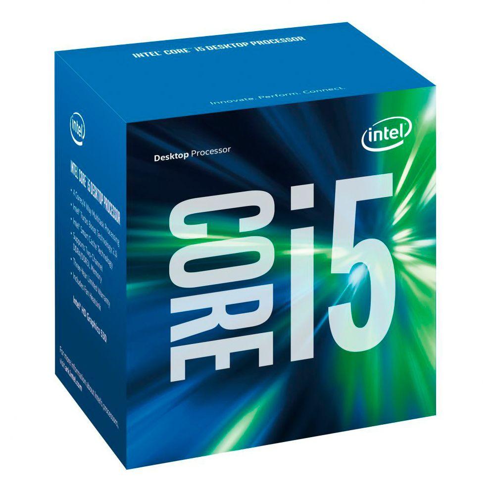 PROCESSADOR INTEL CORE I5 6400 2,70GHz 6MB LGA 1151 INTEL HD GRAPHICS 530