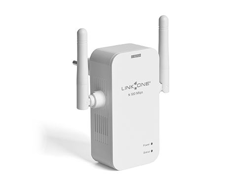 Roteador e Repetidor Wireless N 300 Mbps Nano   L1-RW312n LINK ONE