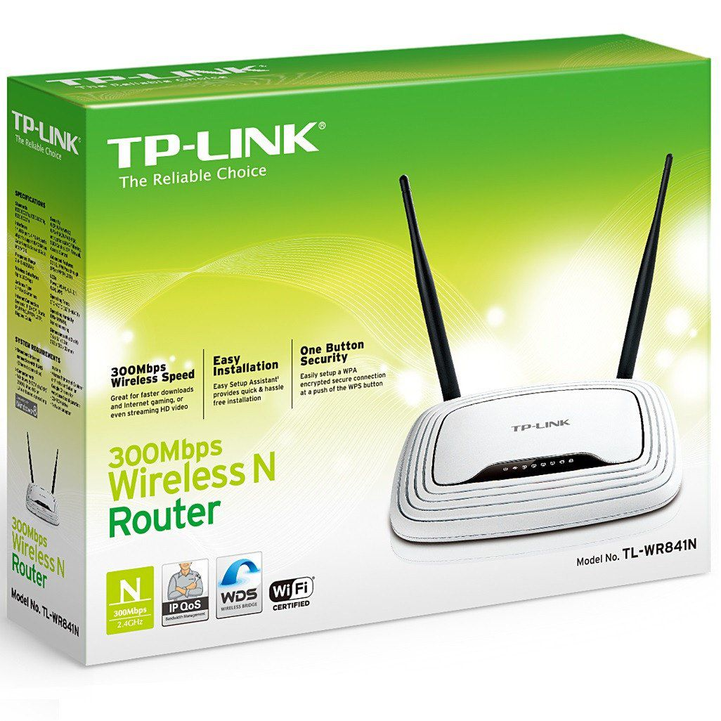 ROTEADOR TP-LINK TL-WR841N WIRELESS 300MBPS