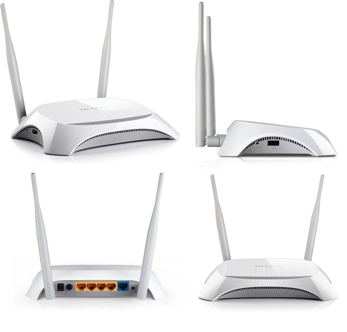 Roteador TP-Link Wireless Wan 300M WAN 3G/4G TL-MR3420