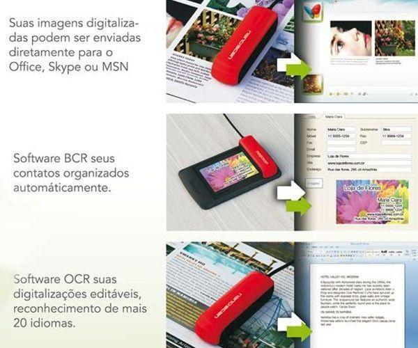 Scanner Portátil - Nano Scan Compacto Ms-802