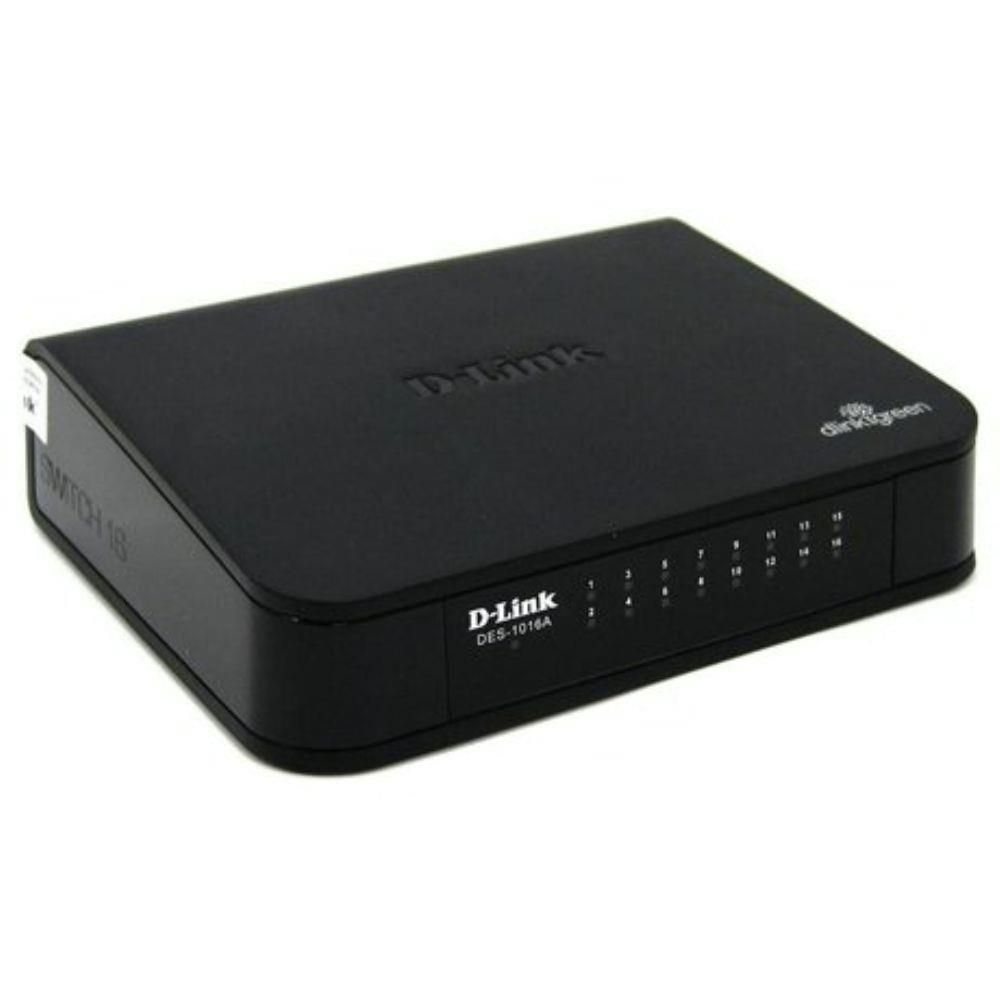 Switch 16 Portas 10/100/1000 DGS-1016A D/A D-Link