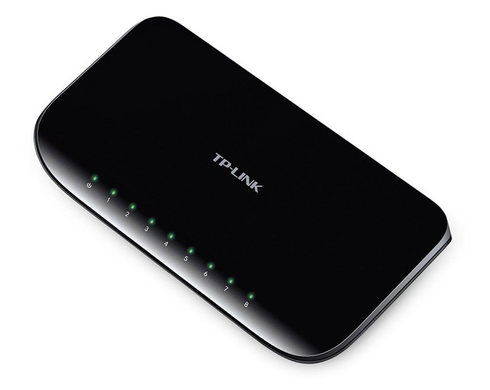 Switch 8 Portas 10/100/1000 Tl-sg1008d Tp-link