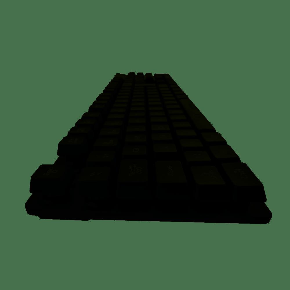 Teclado Gamer LED RGB Semi Mecânico KMG 78 PUGSB G-FIRE