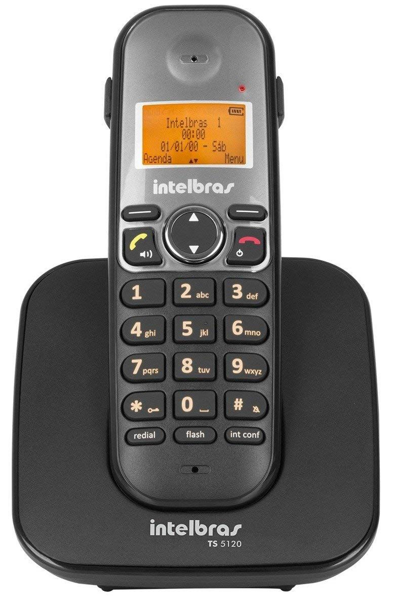 Telefone Ramal s/Fio TS-5121 Pto Intelbras