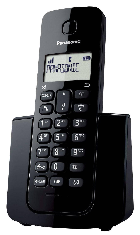 TELEFONE SEM FIO KX-TGB110LBB PRETO PANASONIC