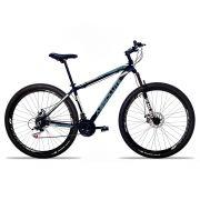 Bicicleta Aro 29 Absolute Nero II 21v Câmbios Shimano Freio a Disco Pto/cinza
