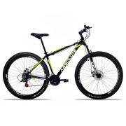 Bicicleta Aro 29 Absolute Nero II 21v Freio a Disco Pto/Amar