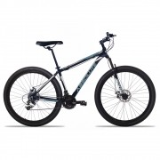Bicicleta Aro 29 Absolute Nero II 24v Shimano Freio a Disco Pto/Cinza