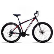 Bicicleta Aro 29 Absolute Nero II 24v Shimano Freio Hidraulico Pto/Verm