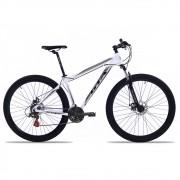 Bicicleta Aro 29 GTA NX9 24v Freio a Disco Bco/Pto/Cinz