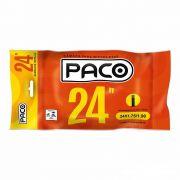 Câmara de Ar para Bicicleta Aro 24 Paco Bico Grosso 35mm