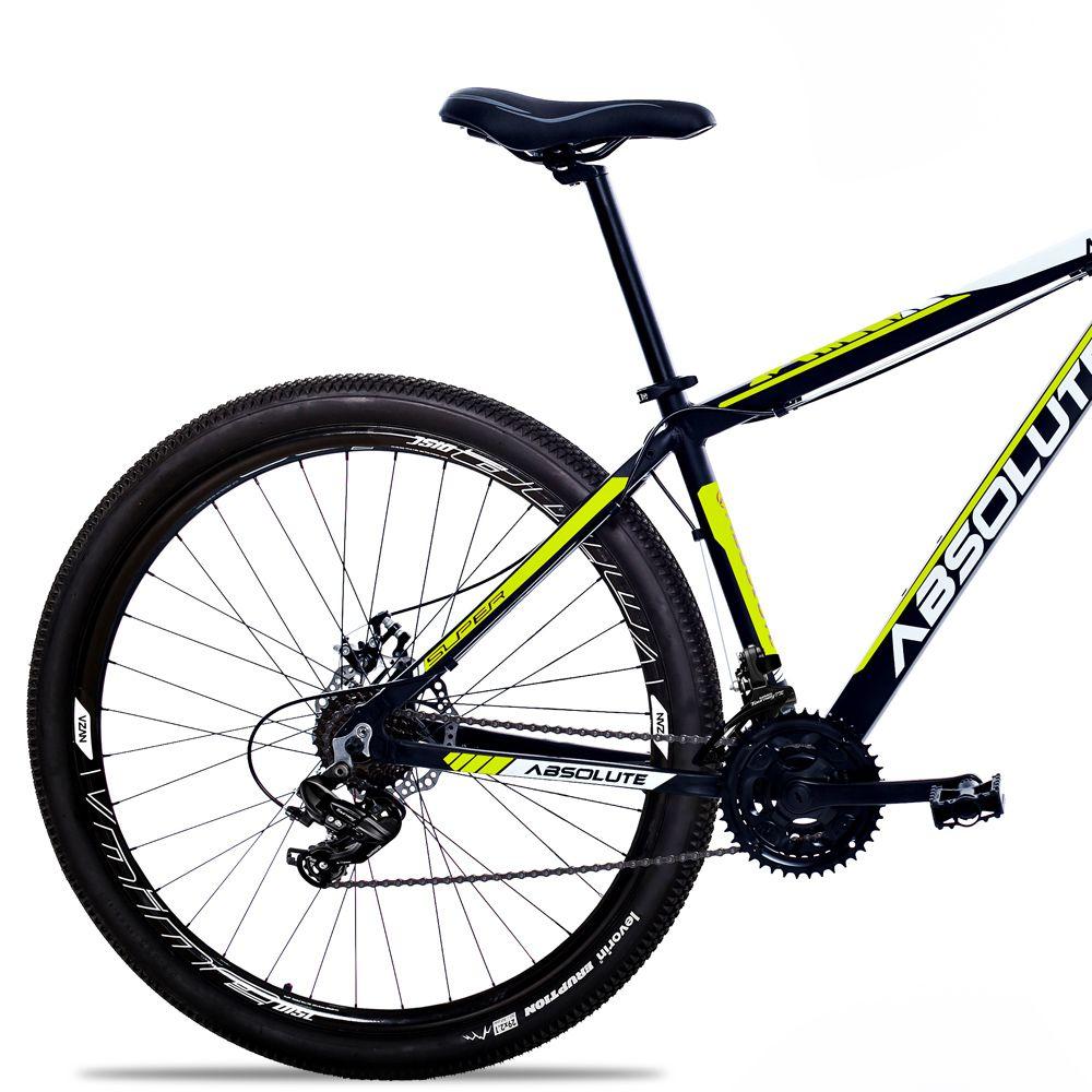 Bicicleta Aro 29 Absolute Nero II 24v Cambios Shimano Hidraulico Pto/Amar