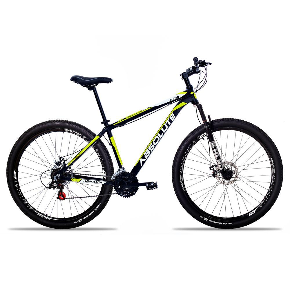 Bicicleta Aro 29 Absolute Nero II 24v Freio a Disco Pto/Amar