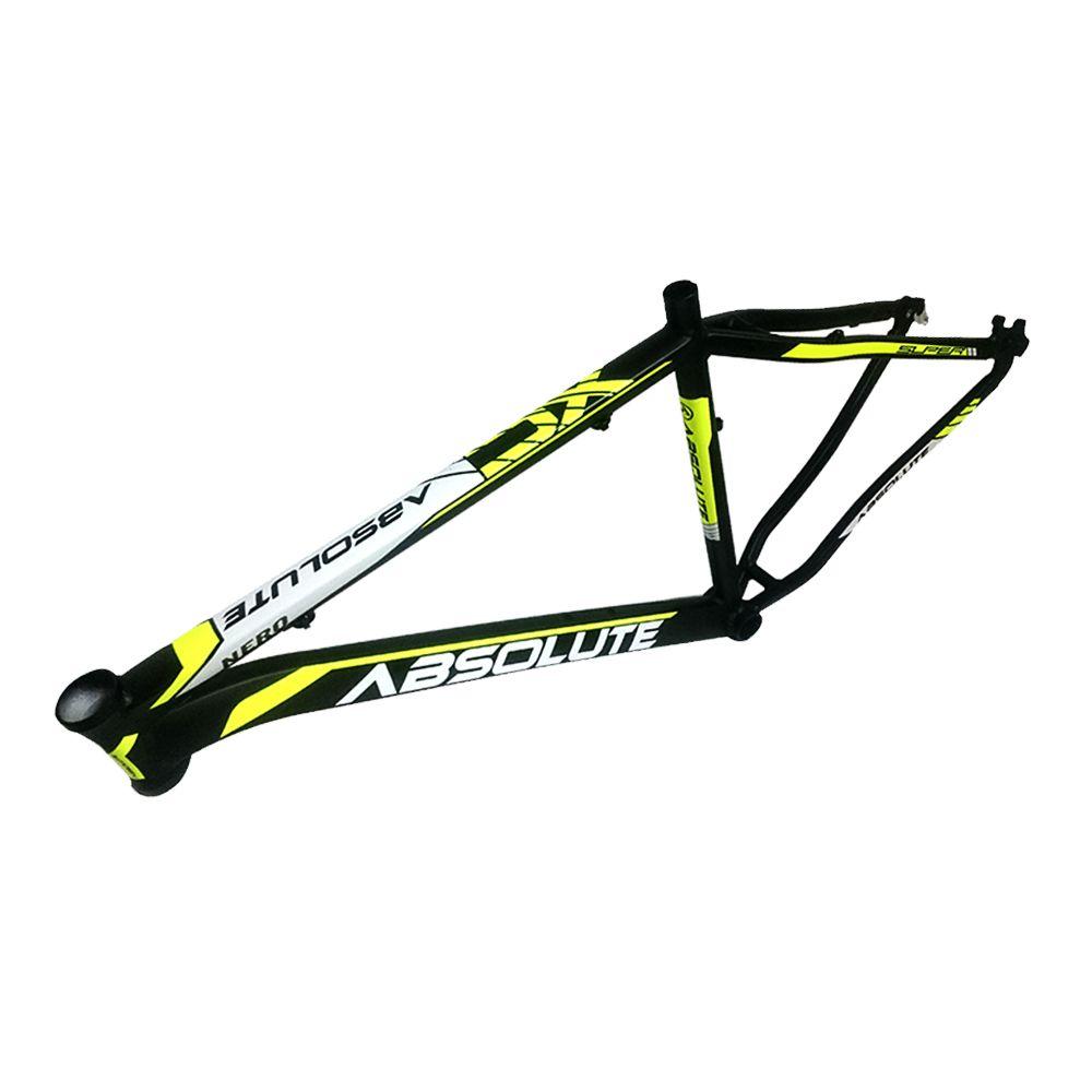 Bicicleta Aro 29 Absolute Nero II 27v F Hidráulico e Grupo Shimano Completo Pto/Amar