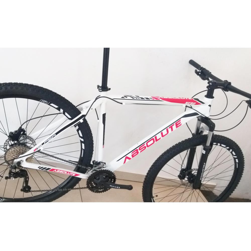 Bicicleta Aro 29 Absolute Nero II 27v kit Veloforce Freio Hidráulico Bco/verm