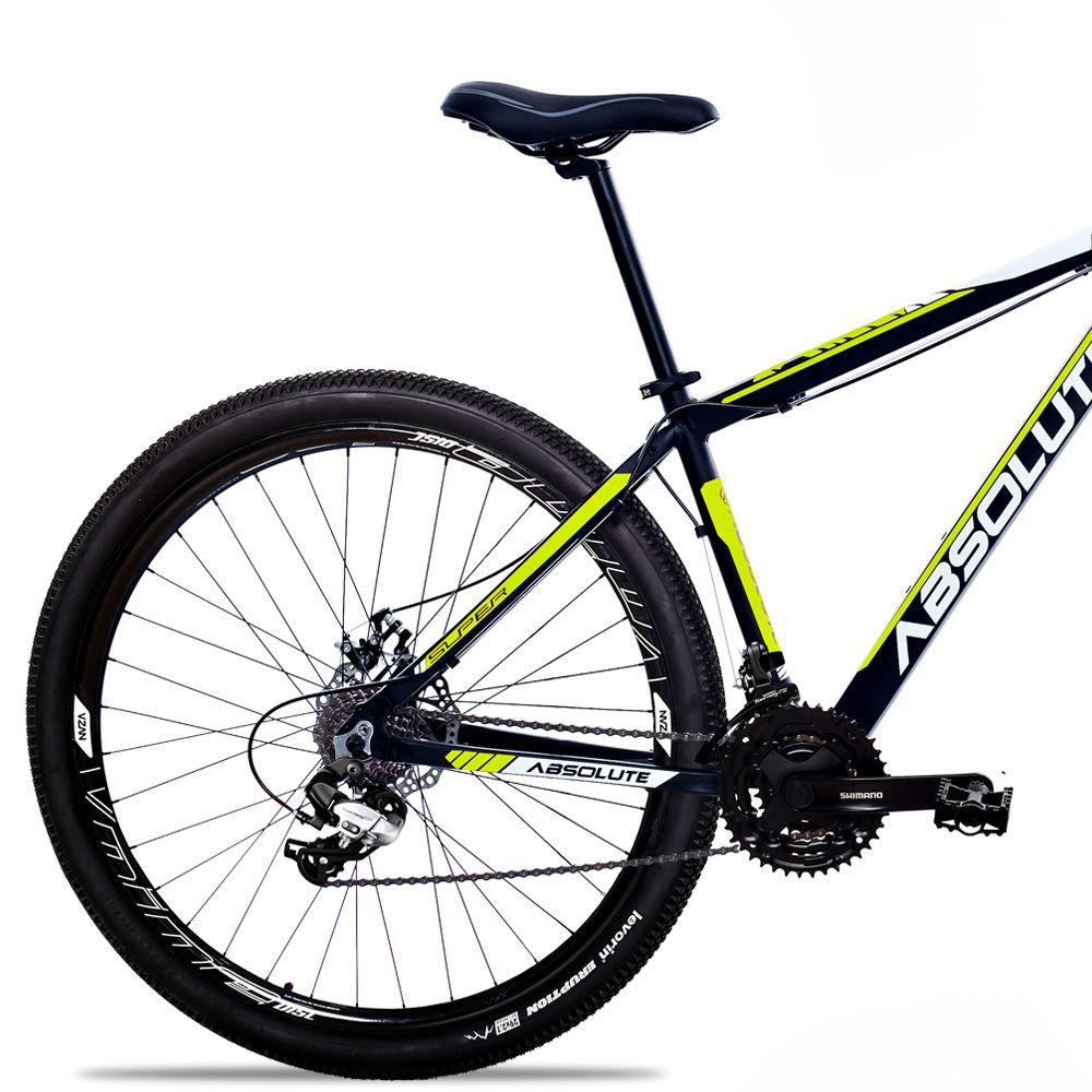 Bicicleta Aro 29 Absolute Nero II 27v Shimano Completo Pto/Amar