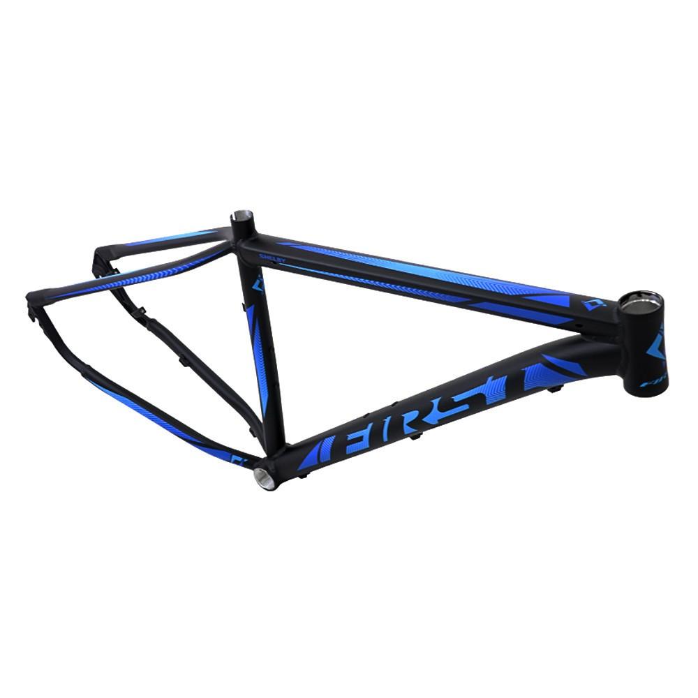 Bicicleta Aro 29 First Shelby 24v Câmbios Shimano Freio a Disco Pto/Azul