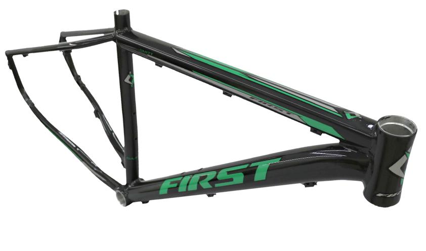 Bicicleta Aro 29 First Smitt 24v Freio a Disco Preto/Verde