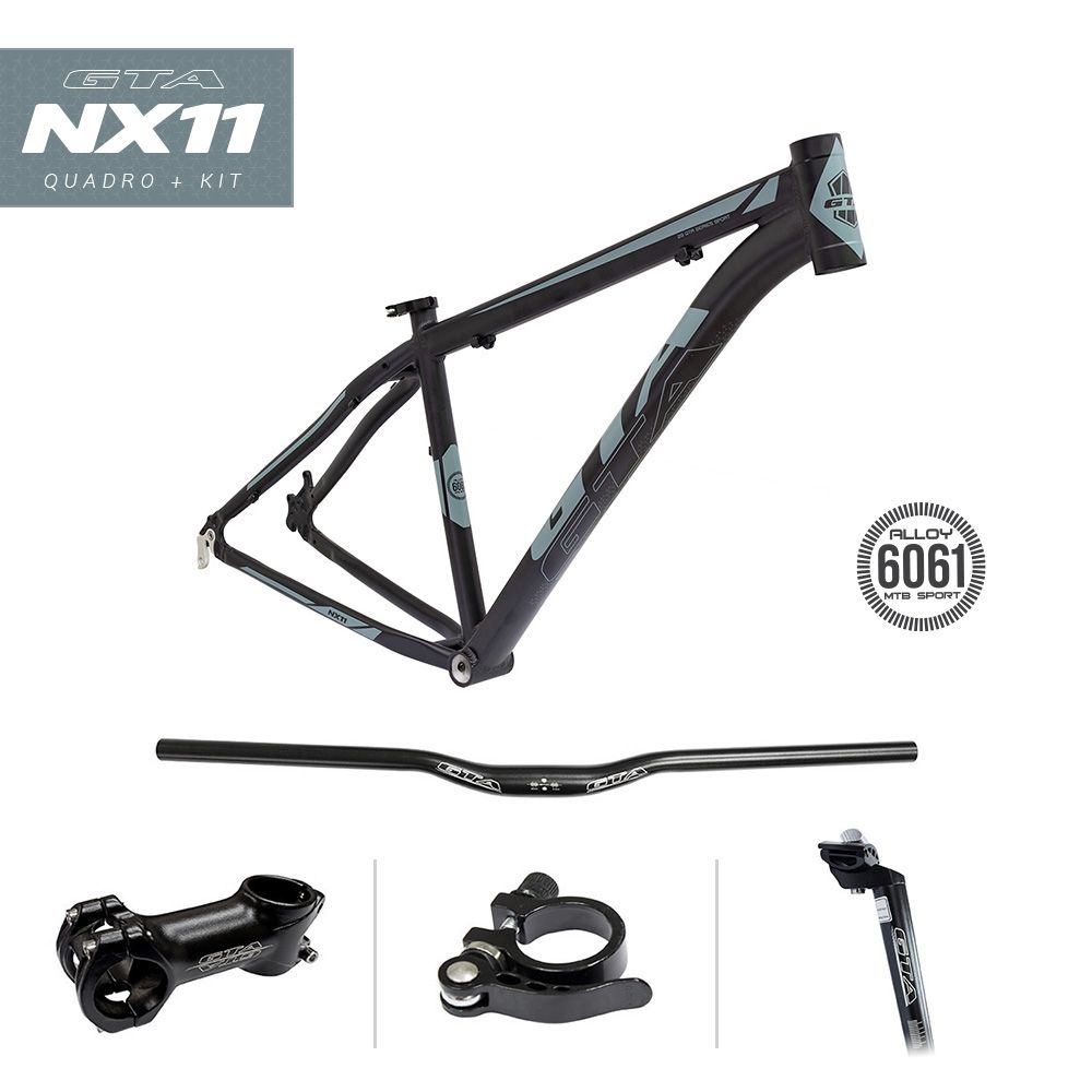Bicicleta Aro 29 GTA NX11 21v Shimano Freio Hidraulico Pto/Graf