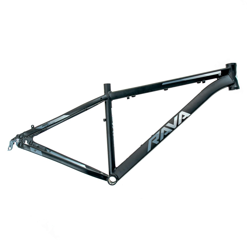 Bicicleta Aro 29 Rava Pressure 24v Shimano k7 Hidraulico Pto/Cinza