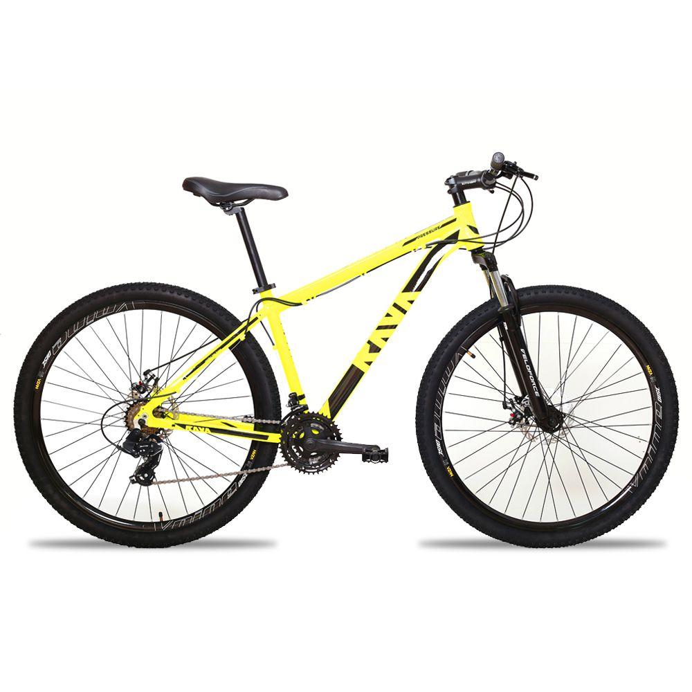Bicicleta Aro 29 TSW Rava 24v Câmbios Shimano Freio a Disco Pto/Amar