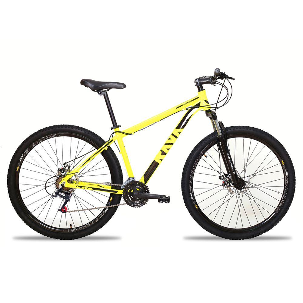 Bicicleta Aro 29 TSW Rava 24v Freio a Disco Pto/Amar