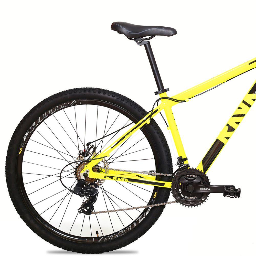 Bicicleta Aro 29 TSW Rava 24v Shimano Freio a Disco Pto/Amar