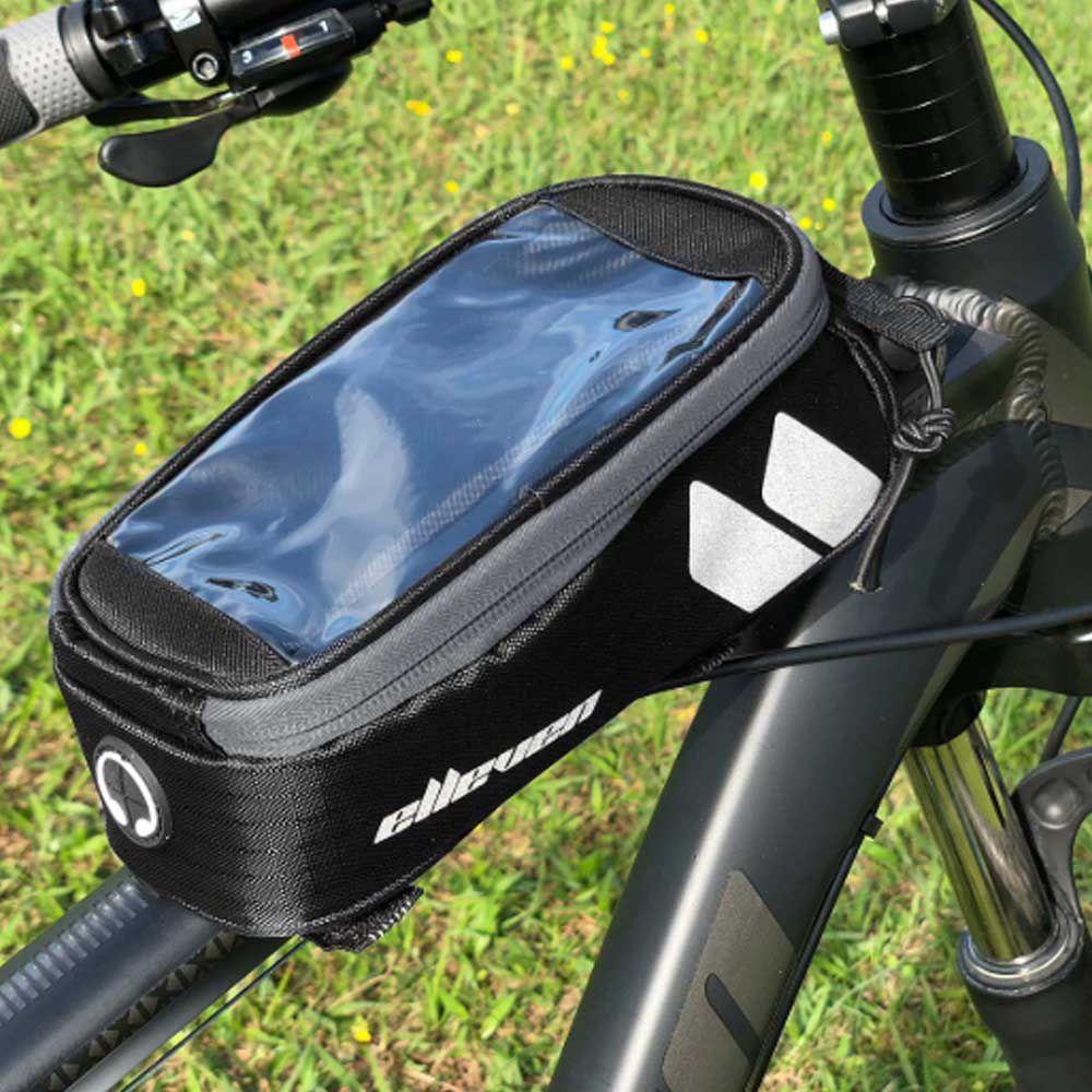 Bolsa de Quadro Para Bicicleta Porta Celular Elleven Pto/Cz