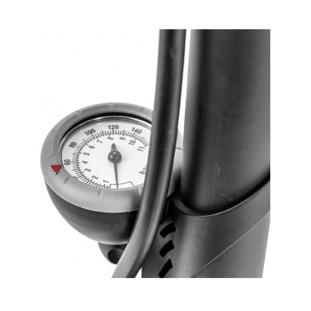 Bomba de Ar para Bicicleta Elleven Oficina Grande C/Manômetro