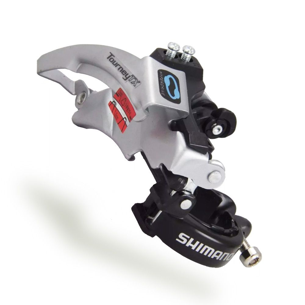 Cambio Dianteiro Shimano Tourney FD-TX800 8 Velocidades 31,8/34,9mm