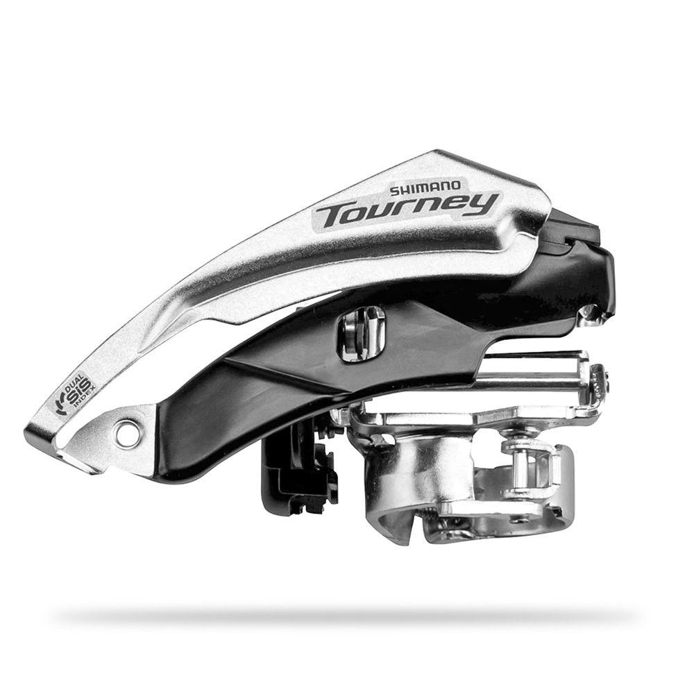Cambio Dianteiro Shimano Tourney FD-TY500 6/7 Velocidade 31,8/ 34.9mm