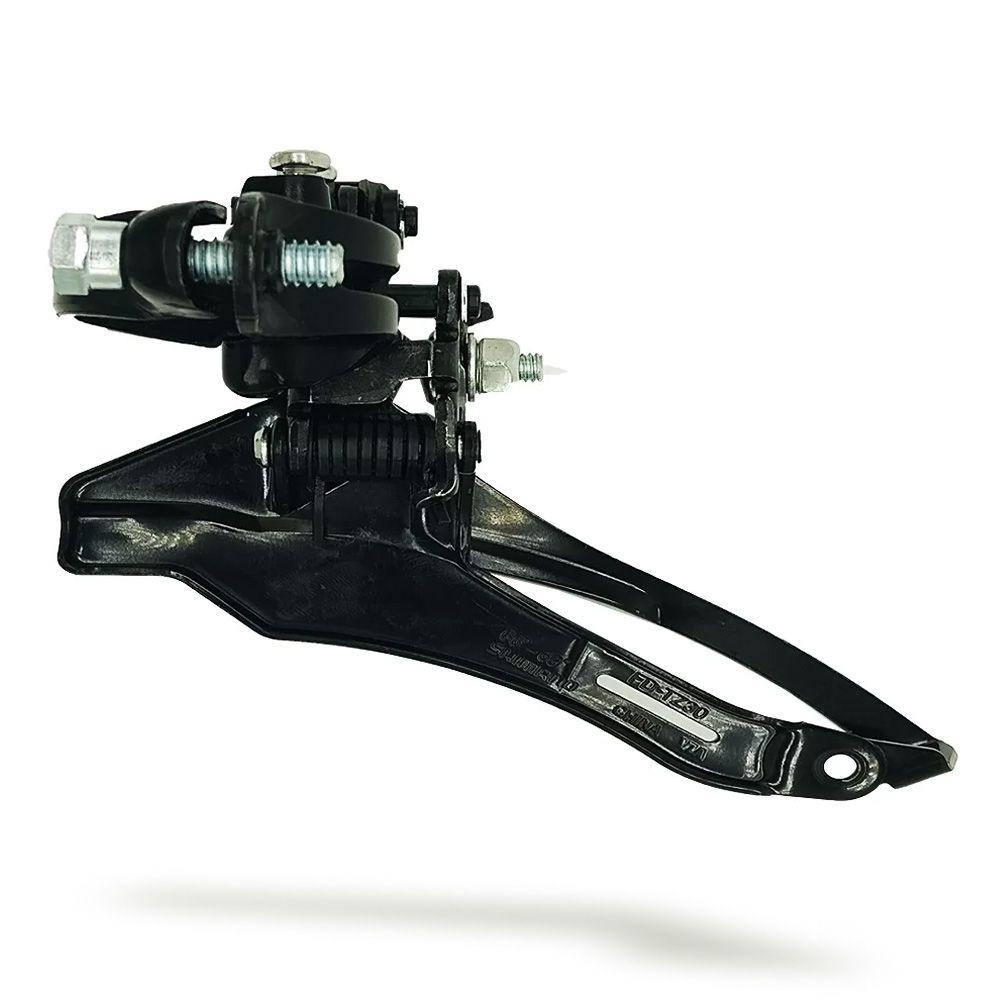 Cambio Dianteiro Shimano Tourney FD-TZ30 6/7 Velocidade 31,8mm