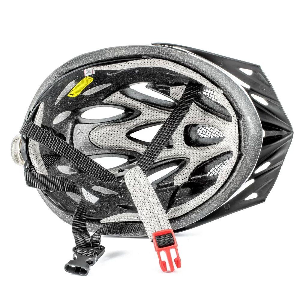 Capacete de Ciclismo Adulto GTA Tam M 54-58CM Pto/Verm