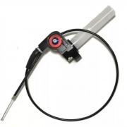 Acelerador Punho Rapido Alumínio C/ Cabo Cg Titan 125 150 Rd