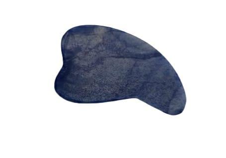 Gua Sha Quartzo Azul Placa massagem Expresso Mata Atlântica