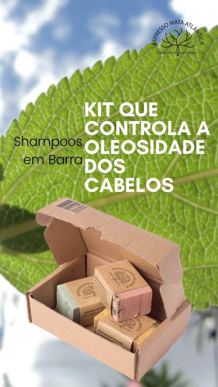Kit Shampoos Sólidos Veganos de Ervas da Expresso Mata Atlântica